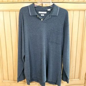 Gray Sweater, Robert Stock, sz Large